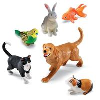 Animales domésticos jumbo de Learning Resources
