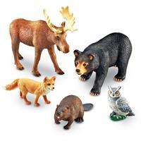 Animales jumbo del bosque de Learning Resources