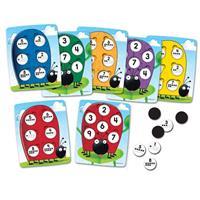 Juego con cuadrículas de diez casillas 10 on the Spot!T de Learning Resources