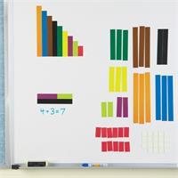 Set gigante de regletas de Cuisenaire magnéticas para explicaciones de Learning Resources