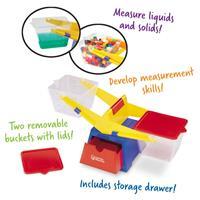Balanza de cubos de primaria de Learning Resources