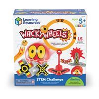 Circuito de pruebas de STEM con Wacky Wheels de Learning Resources