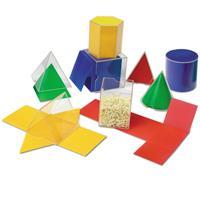 Formas geométricas plegables originales de Learning Resources