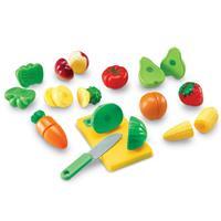 Frutas y verduras cortables Pretend & Play de Learning Resources