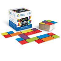 Juego de estrategia de cuadrados de colores de Learning Resources