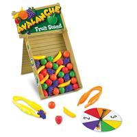 Juego para desarrollar habilidades motoras finas y aprender los colores Avalanche Fruit Stand™ de Le