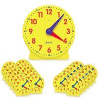 Kit de relojes para el aula Big TimeT de Learning Resources