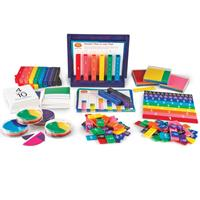 Kit económico para enseñar las fracciones Rainbow Set Aula