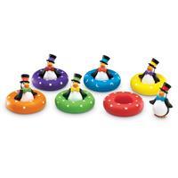 Pingüinos de colores Colour Play Penguins™ Smart Splash® para relacionar colores y formas