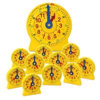 Reloj de línea numérica de 24 horas Kit para el aula.