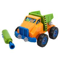 Set de construcción de vehículos con herramienta eléctrica Design & Drill de Learning Resources - ca