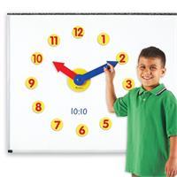 Set de reloj magnético con engranajes de Learning Resources