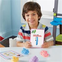 Set para modelar y aprender el alfabeto con Playfoam de Learning Resources