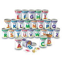 Sopas clasificadoras del alfabeto Alphabet Soup Sorters de Learning Resources