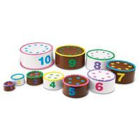 Tarta con números para contar Stack & Count Layer Cake™ de Smart Snacks® de Learning Resources